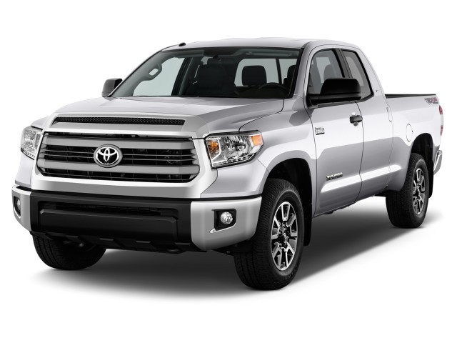 2014 Toyota Tundra Angular Front Exterior View