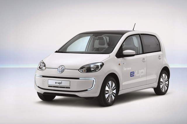 2014 Volkswagen e-Up electric minicar