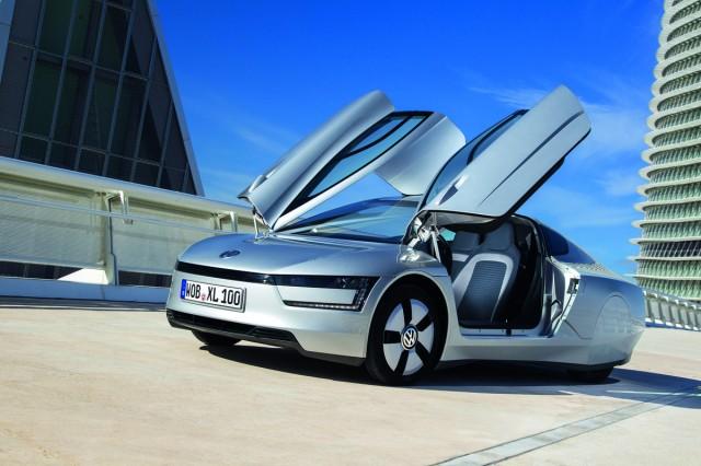 2014 Volkswagen XL1 (Euro spec)