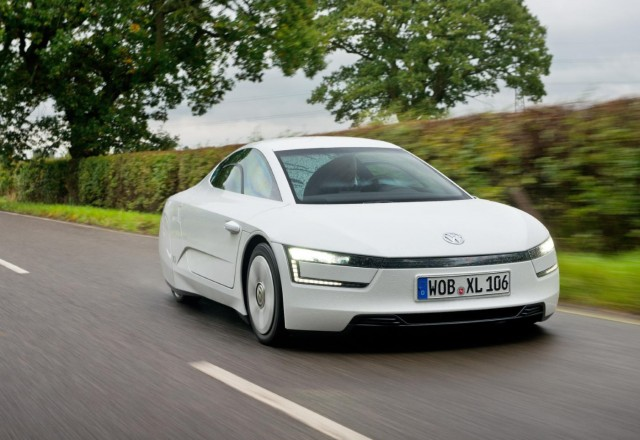 2014 Volkswagen XL1 (European model)