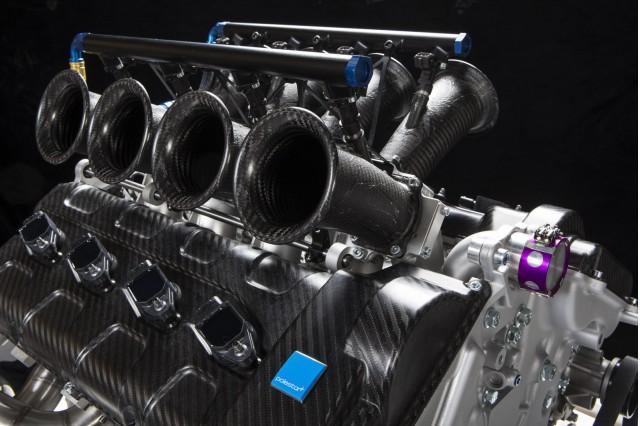2014 Volvo V8 Supercars race car engine