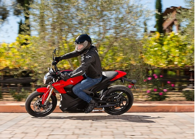 2014 Zero SR electric motorcycle