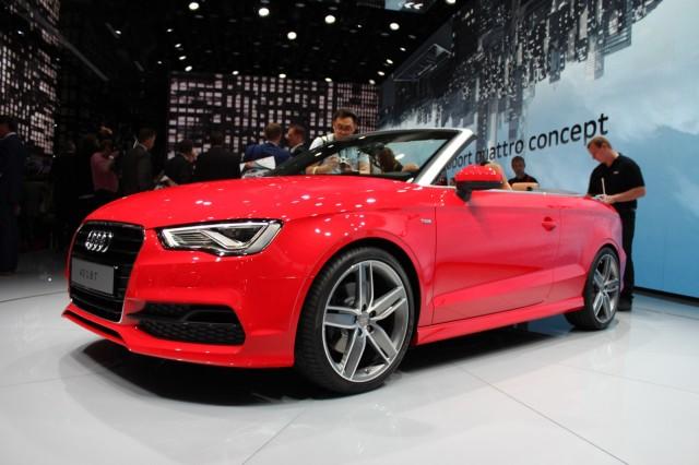 2015 Audi A3 Cabriolet  -  Frankfurt Auto Show