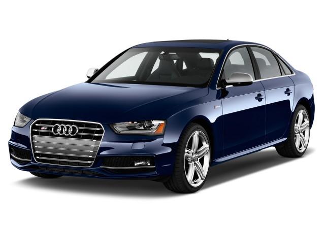 2015 Audi S4 4-door Sedan Man Premium Plus Angular Front Exterior View