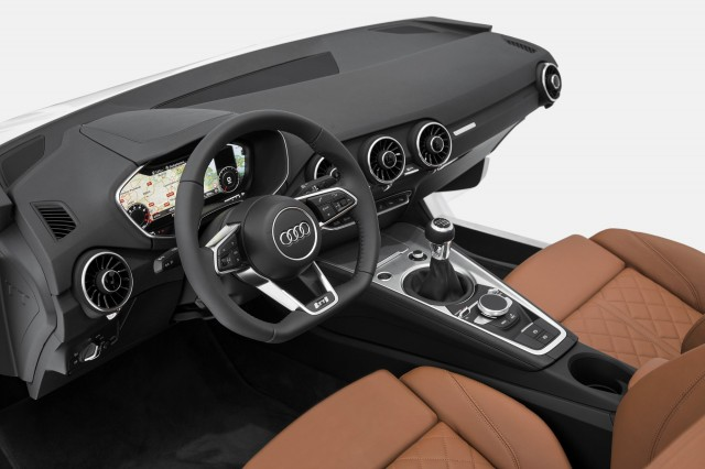 2015 Audi TT cabin previewed at CES