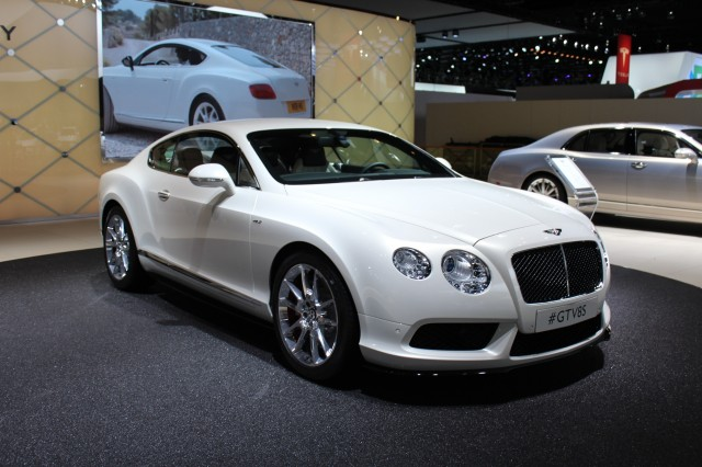 2014 Bentley Continental GT V8 S  -  2014 Detroit Auto Show live photos