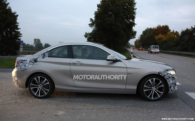 2015 BMW 2-Series Spy Shots