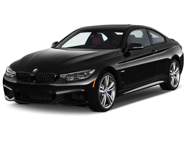 2015 BMW 4-Series 2-door Coupe 435i RWD Angular Front Exterior View