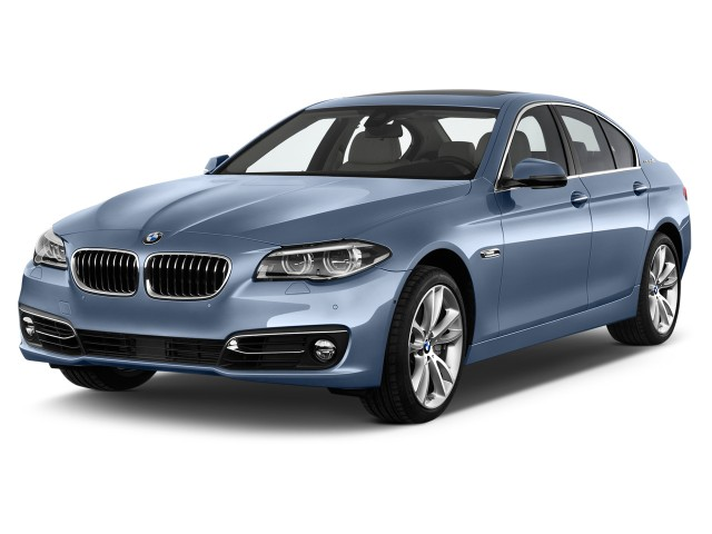 2015 BMW 5-Series 4-door Sedan ActiveHybrid 5 RWD Angular Front Exterior View