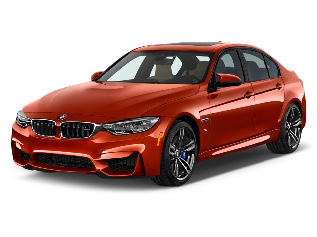 2015 BMW M3 4-door Sedan Angular Front Exterior View