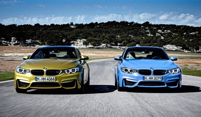 2015 BMW M4 and M3