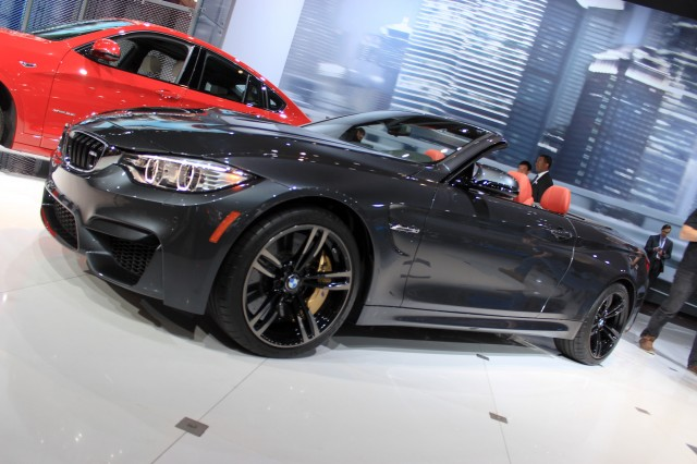 2015 BMW M4 Convertible, 2014 New York Auto Show