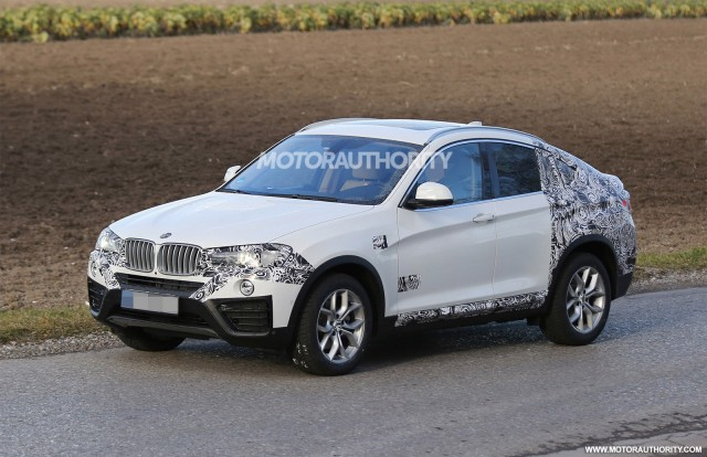 2015 BMW X4 spy shots
