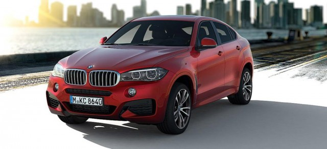 2015 BMW X6 equipped with M Sport package
