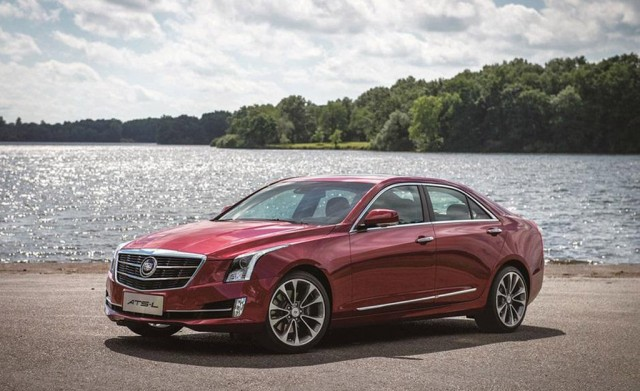 2015 Cadillac ATS-L (Chinese spec)