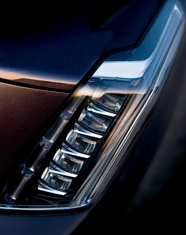 2015 Cadillac Escalade teaser.