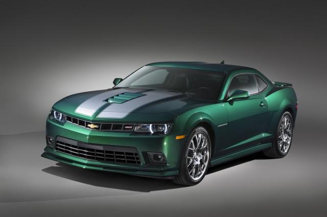 2015 Chevrolet Camaro Green Flash Edition