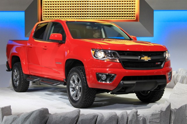 2015 Chevy Colorado, GMC Canyon Gas Mileage: 20 Or 21 MPG ...