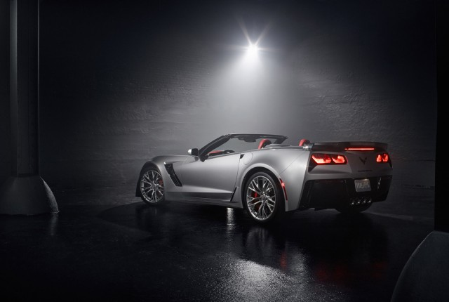2015 Chevrolet Corvette Z06 Convertible, shot by Dan Wang