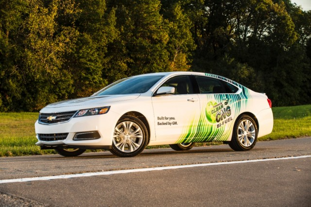 2015 Chevrolet Impala Bi-Fuel Natural Gas