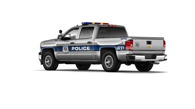 2015 Chevrolet Silverado 1500 Crew Cab Special Service Vehicle