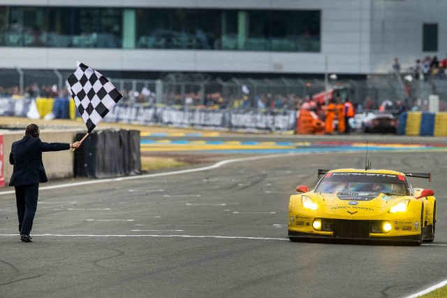 2015 Corvette Racing Chevrolet Corvette C7.R at the 24 Hours of Le Mans