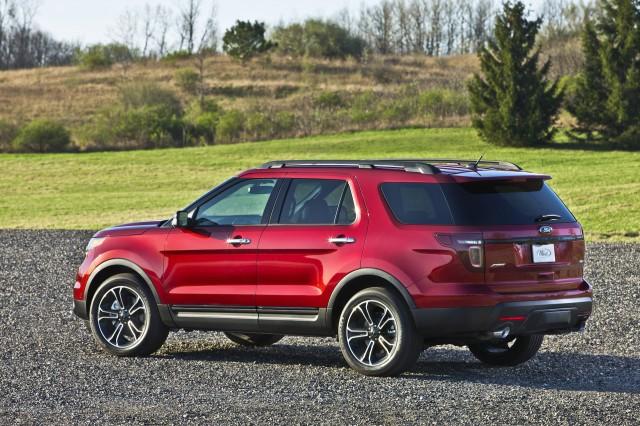 2015 ford explorer - Red Ford Explorer Black Rims