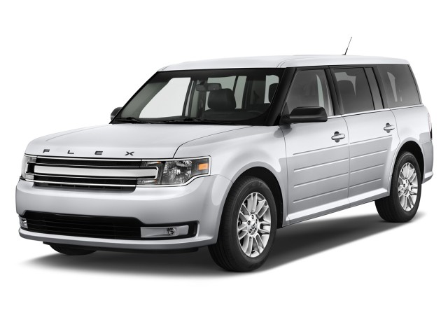 2015 Ford Flex 4-door SEL FWD Angular Front Exterior View