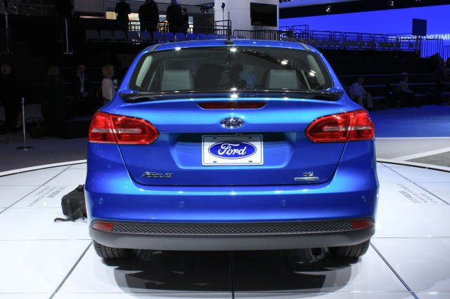 2015 Ford Focus, 2014 New York Auto Show