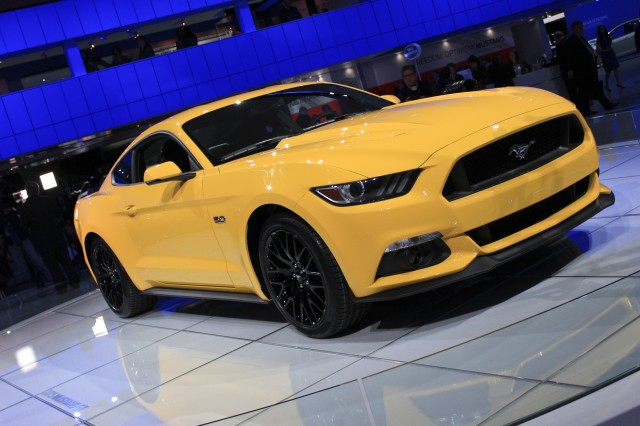2015 Ford Mustang live photos, 2014 Detroit Auto Show