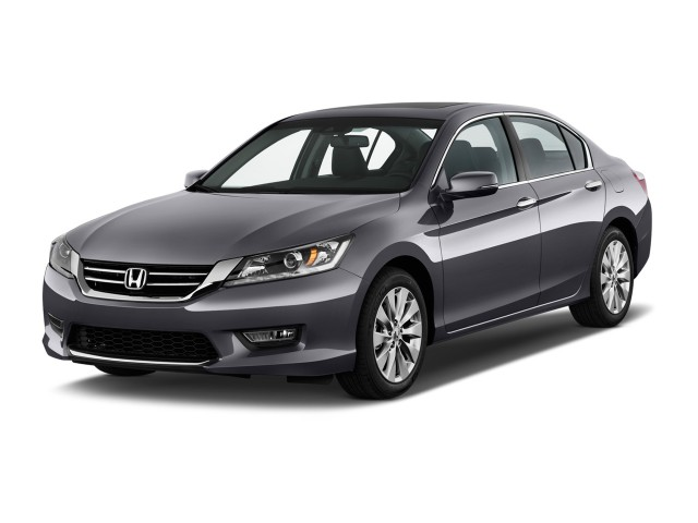 2015 Honda Accord Sedan 4-door V6 Auto EX-L Angular Front Exterior View