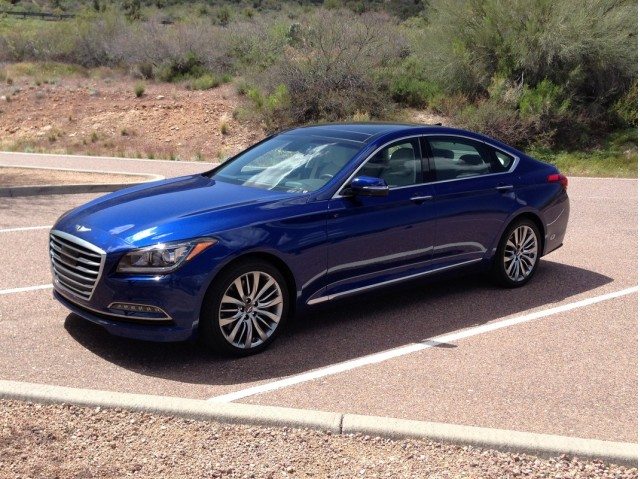 2015 Hyundai Genesis - First Drive, April 2014