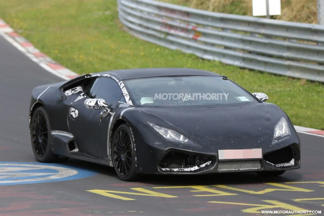 2015 lamborghini cabrera gallardo replacement spy shots - 2016 Ferrari 458 Replacement