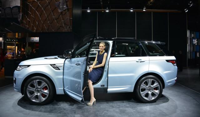 2015 Land Rover Range Rover Sport Hybrid, 2013 Frankfurt Auto Show