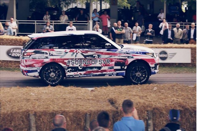 2015 Land Rover Range Rover Sport SVR prototype, 2014 Goodwood Festival of Speed