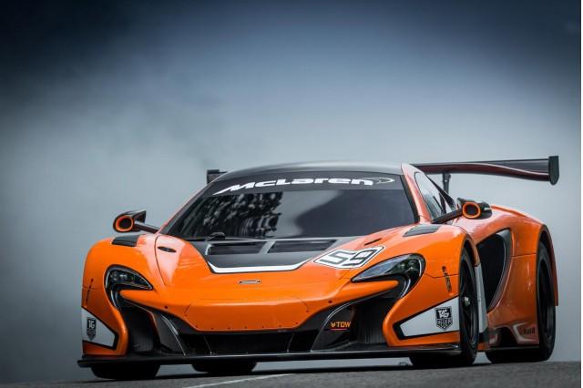2015 McLaren 650S GT3 race car