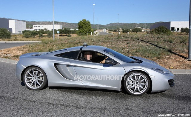 2015 McLaren P13 test mule spy shots
