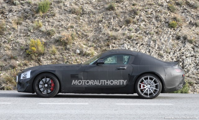 2015 Mercedes-Benz AMG GT (C190) spy shots