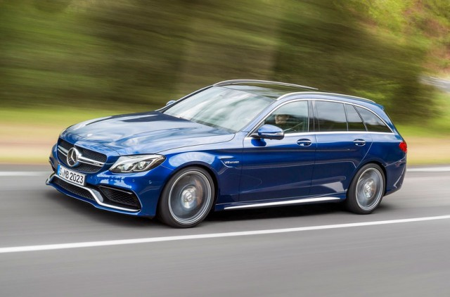 2015 Mercedes-Benz C63 AMG Estate