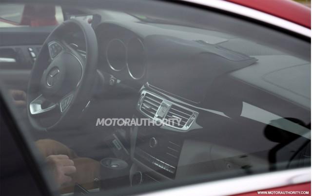 2015 Mercedes-Benz CLS-Class facelift spy shots