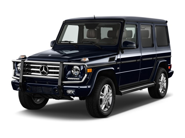 2015 Mercedes-Benz G Class 4MATIC 4-door G550 Angular Front Exterior View