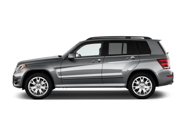 2015 Mercedes-Benz GLK Class 4MATIC 4-door GLK350 Side Exterior View
