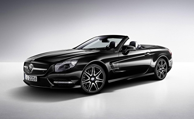 2015 Mercedes-Benz SL400 (European spec)