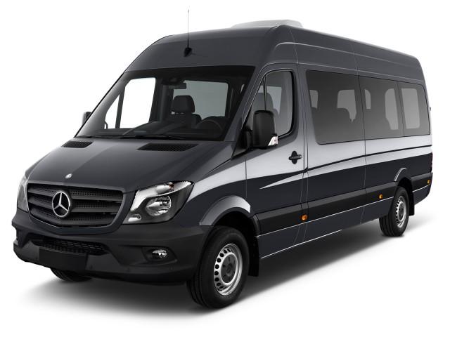 """2015 Mercedes-Benz Sprinter Passenger Vans RWD 2500 170"""" Angular Front Exterior View"""