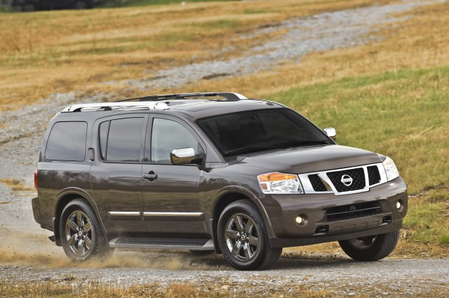 2015 nissan armada review ratings specs prices and photos the car connection. Black Bedroom Furniture Sets. Home Design Ideas