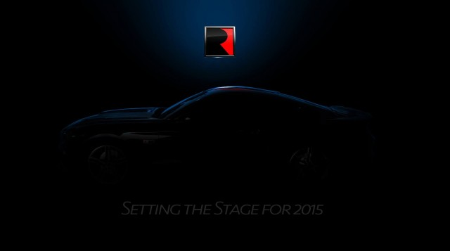 2015 Roush Mustang teaser  -  July 2014