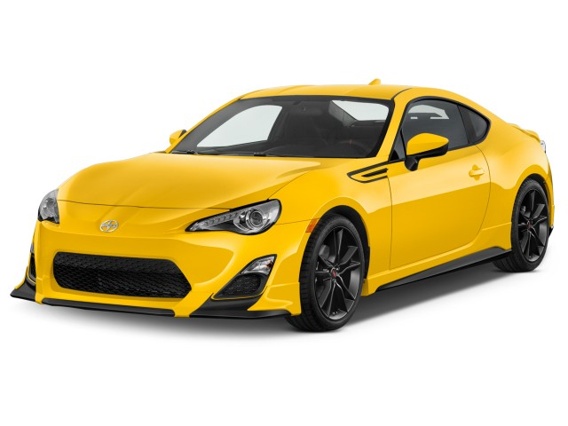 2015 Scion FR-S 2-door Coupe Auto Release Series 1.0 (Natl) Angular Front Exterior View