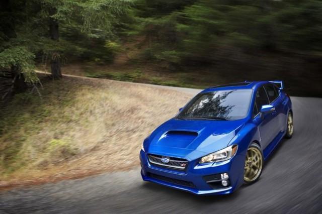 2015 Subaru WRX STI leaked