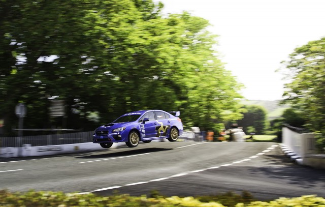2015 Subaru WRX STI Sets New Isle Of Man TT Car Lap Record