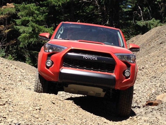 2015 Toyota TRD Pro 4Runner  -  Quick Drive, July 2014
